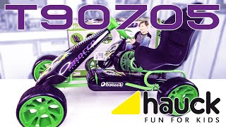 Hauck Sirocco Go-Kart (T90705) - Toys for Kids - Opa gibt Gas - Aufbau / Review / Test / UNBOXiNG