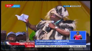 Mudavadi promises to build coalition outside Luhya community after being crowned Spokesman