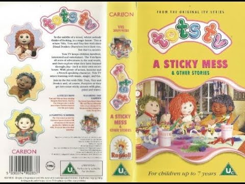 Tots TV: A Sticky Mess and other stories (1997 UK VHS)