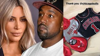 No Bull! NBA Team Hooks Up Kim and Kanye's Chicago With Free Merch