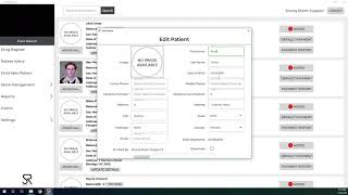 Tutorial on updating a patient's details and deactivating patients