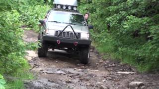 Jeep Cherokee, Belvedere 2010, offroad 4x4 trail