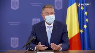 Iohannis: Majoritatea localităţilor, inclusiv Bucureşti, s-ar afla în prezent în scenariul 'verde' în ce priveşte desfăşurarea cursurilor