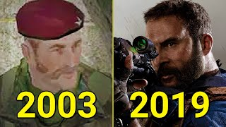 Evolution of Call of Duty 2003-2019