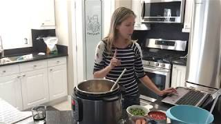 Easy Instant Pot Chicken Jambalaya
