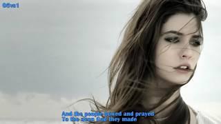 The Sound Of Silence - Dana Winner - Lyrics - YouTube