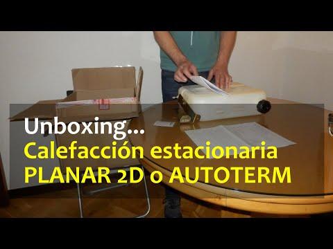 Unboxing calefacción estacionaria gasoil planar 2D