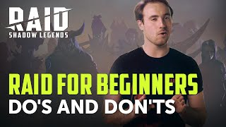 RAID: Shadow Legends | RAID For Beginners | Do's And Don'ts
