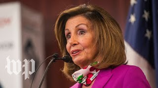 WATCH: Pelosi and Schumer hold news conference on coronavirus testing