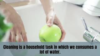 Know How To Save Water While Cleaning