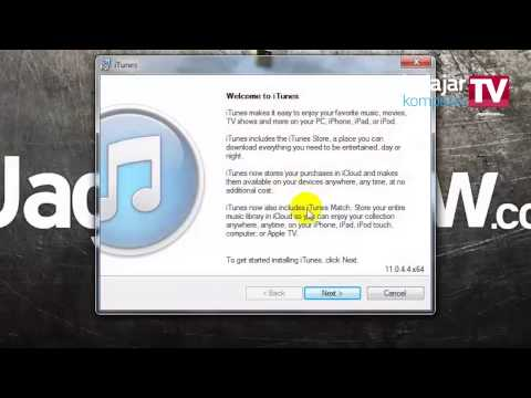 Mendownload dan menginstall iTunes