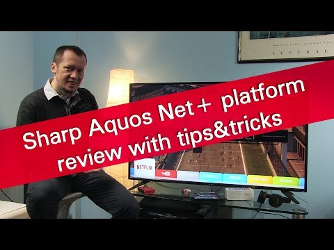 Sharp Aquos Net+ smart TV review with tips and tricks