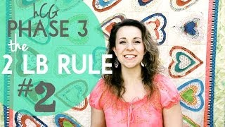 Phase 3 hCG Diet: Throwing the 2lb Rule out - #2 When You Exercise in P3