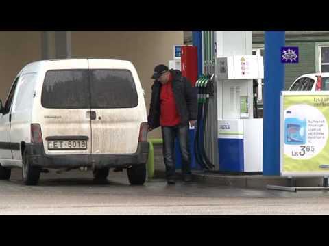 Das Benzin im Tank den ganzen Winter