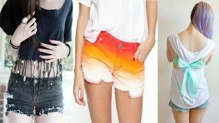 Простые лайфхаки с одеждой, DIY Clothes Life Hacks  # 4