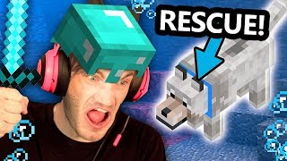 Saving my Minecraft Dog At ALL COSTS! - Part 10