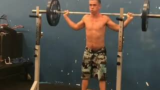 Push Press Behind the Neck