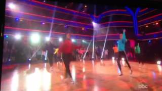 Dancing with the Stars featuring Camden Drill Team