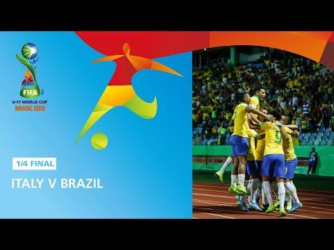 Italy v Brazil Highlights - FIFA U17 World Cup 2019 ™