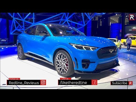 2021 Ford Mustang Mach E – Redline: First Look – 2019 LA Auto Show