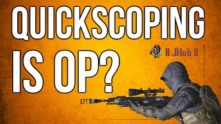Black Ops 2 In Depth  Quickscoping Is OP Time To Kill Comparisons