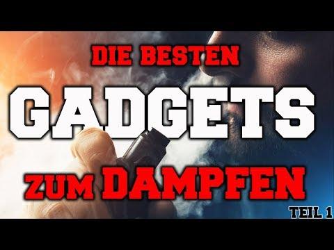 Die BESTEN Gadgets für E-Zigaretten | Besser DAMPFEN