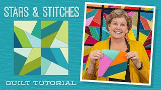 Make A Stars And Stitches Quilt With Jenny Doan Of Missouri Star (Video Tutorial)