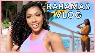 TRAVEL WITH ME TO THE BAHAMAS | FLAMINGOS, BEACH DAY, &  MY EXPERIENCE LEAVING THE COUNTRY RIGHT NOW