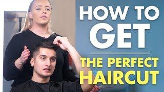 How To Get The PERFECT Haircut | Mens Short Hair Tutorial