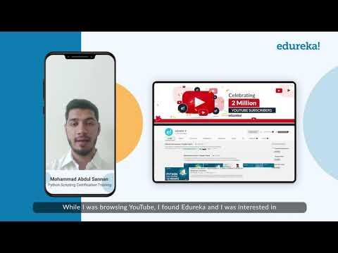Mohammad Abdul - Python Scripting Certification Training | Make ...
