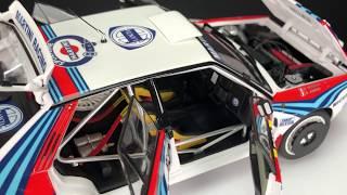 Kyosho Lancia Delta HF Integrale 1992 Monte Carlo #4 Martini