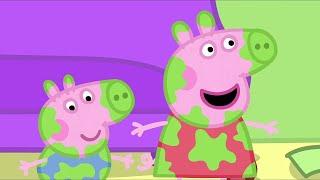 Peppa Pig in Hindi - Daddy Pig Frame Laga Rahe Hai - हिंदी Kahaniya - Hindi Cartoons for Kids