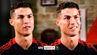'Utd need time, but my level can go higher'   Ronaldo on Man Utd, retiring & achieving more
