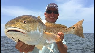 MASSIVE PB REDFISH {Catch Clean Cook} RedHot Red Drum - Venice, La