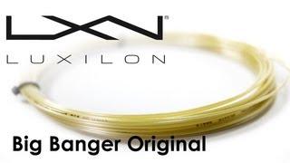 Luxilon Original String (1.30mm, 200m) video