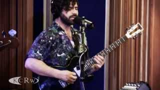 "Foals performing ""Inhaler"" Live on KCRW"