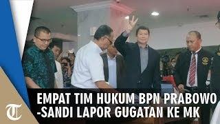 RESMI - Tim Kuasa Hukum BPN Prabowo-Sandi Laporkan Gugatan Hasil Pilpres 2019 ke MK