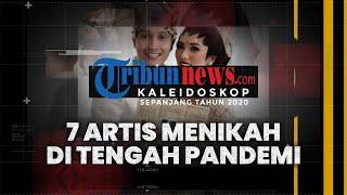 POPULER KALEIDOSKOP 2020: 7 Artis Menikah di Pandemi Covid-19, Tara Basro, Nikita Willy hingga Sule