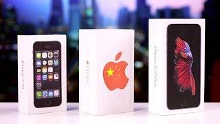 Покупаем на Ali - iPhone 5S, 6, 6S и другие распаковки с Aliexpress головного мозга