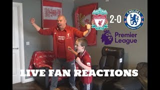 Liverpool 2-0 Chelsea, Sunday April 14th 2019, LIVE Fan Reactions
