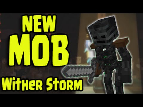 Minecraft New Boss Wither Storm Mob Minecraft Story Mode