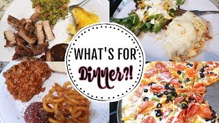 WHAT'S FOR DINNER | EASY WEEKNIGHT MEALS | LOVE MISSY XO