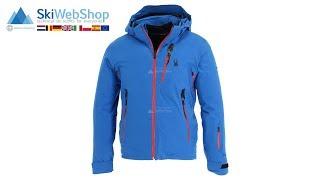 Spyder, Vanqysh, ski-jas, heren, zwart/acid geel