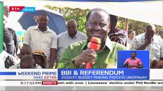 BBI REFERENDUM: Mudavadi calls for Parliament to allocate resources in the budget