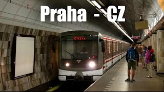 preview picture of video 'PRAHA METRO - U-Bahnen in Praha (01.05.2014)'