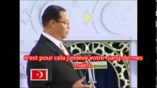Farrakhan parle de L\'Ebola & dévoile le plan de Satan Partie 1