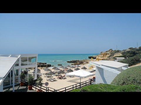 Praia do Evaristo, areal do Jet Set em Albufeira (Algarve)