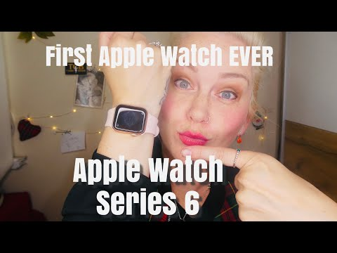 Apple Watch series 6! GOLD! My first EVER Apple Watch! Unboxing and first look!