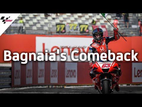 MotoGP サンマリノGP 2位に入ったフランセスコ・バグワイア(プラマックレーシング)が大活躍するレース名場面にフォーカスしたハイライト映像