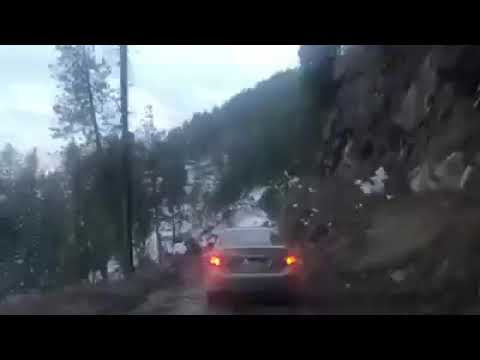 Car Falls Of From Cliff In Azad Kashmir